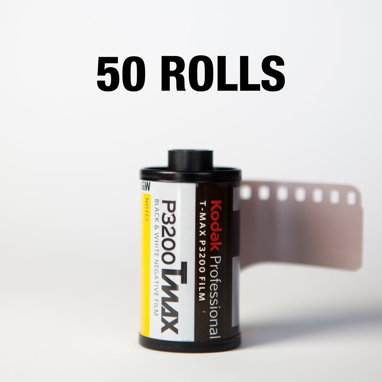 Kodak T-Max P3200 35mm 36 Exposure - 50 ROLLS ($7.35/roll)