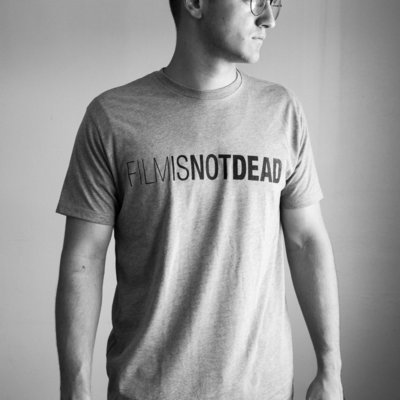 Unisex FILM IS NOT DEAD T-shirt