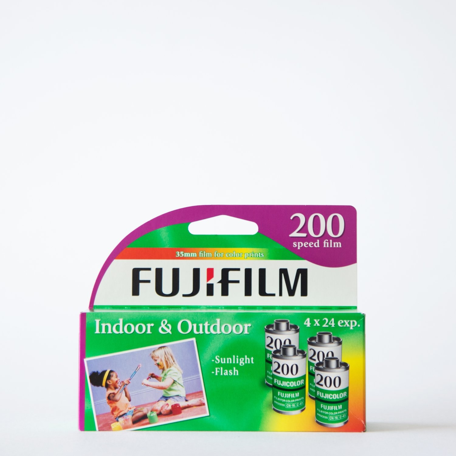 Fujicolor 200 35mm 24 Exposures 4 Pack ($2.50/roll)