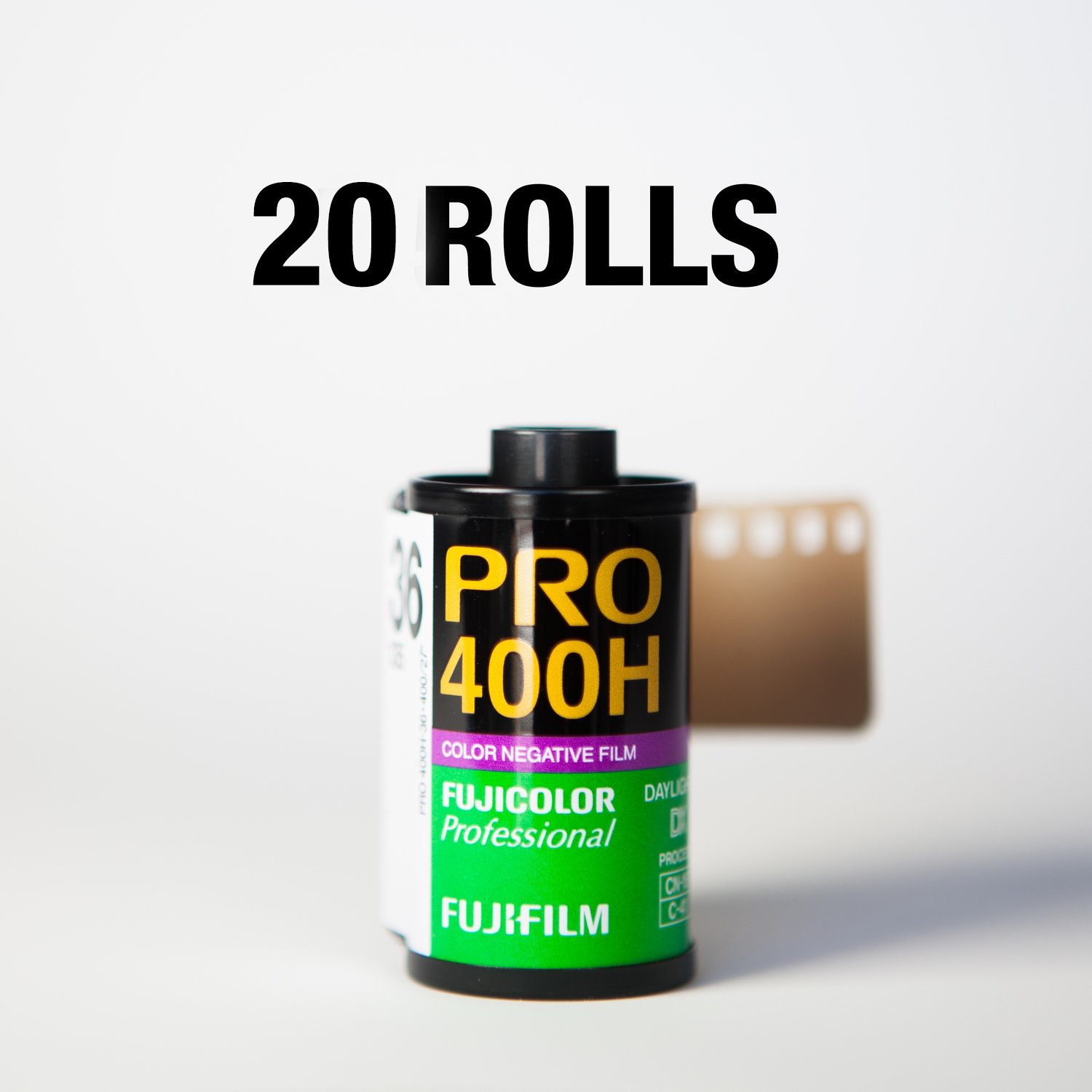 Fuji 400H 35mm 36 Exposures - 20 Rolls ($8.22/roll)