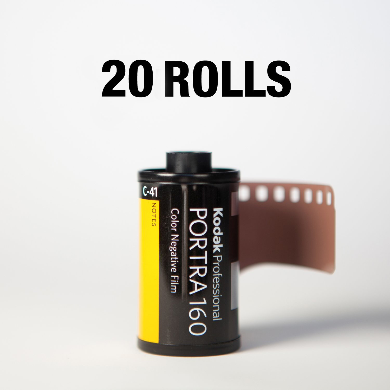 Kodak Portra 160 35mm 36 Exp - 20 Rolls ($7.25/roll)