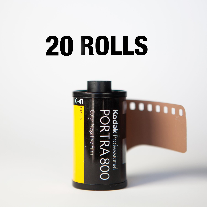 Kodak Portra 800 35mm 36 Exposures - 20 Rolls ($9.25/roll)
