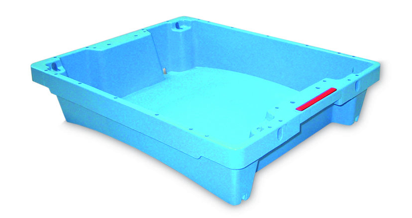 Bac crié en plastique pour maréé et poissonnier 2004