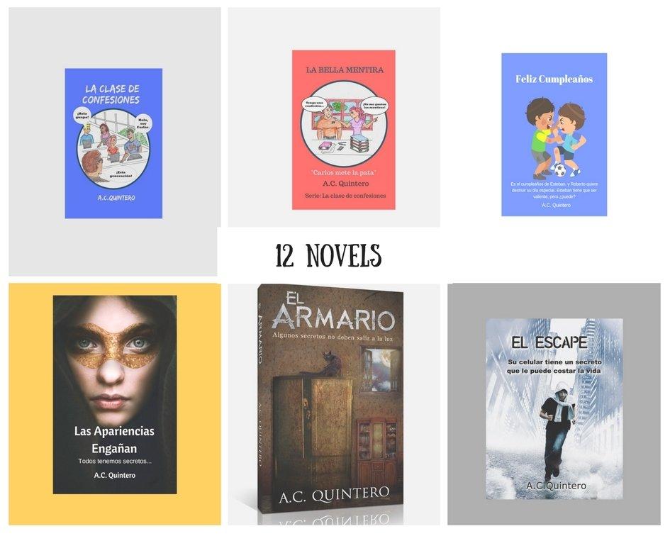 12 Novels: Spanish Multi-level Readers for FVR+FVR Reading Kit-Levels 1-4