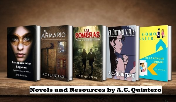 Novels & Resources by A.C. Quintero