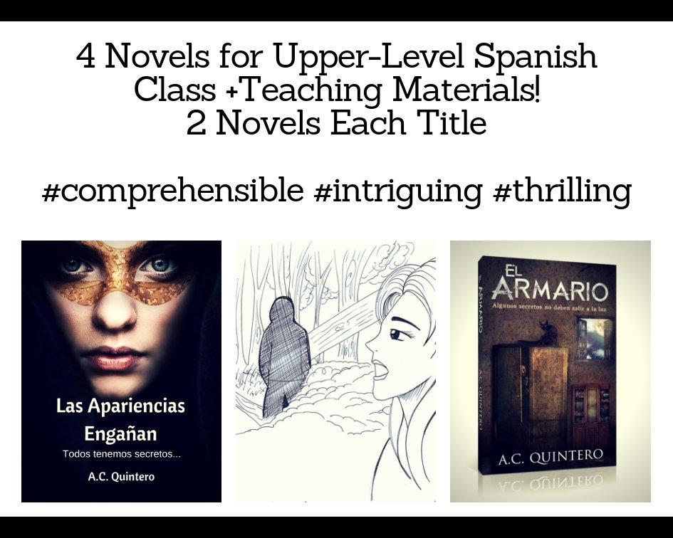 4 Novels: Las apariencias engañan & El armario  (Level 3+)