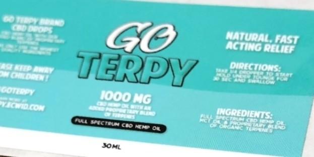 Go Terpy 1000 Mgs CBD 30ML