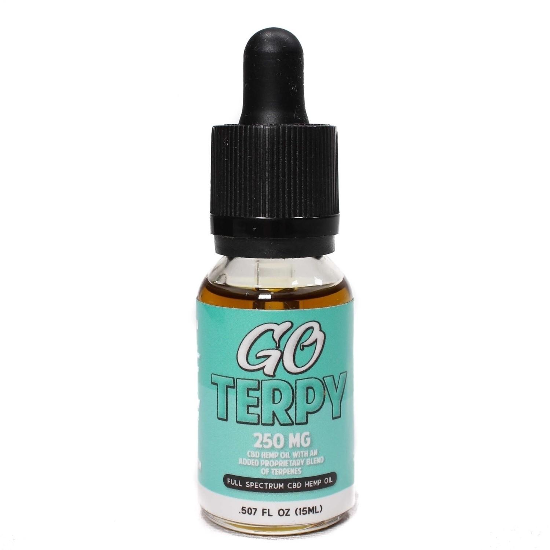 Go Terpy 250 Mgs CBD 15 ML