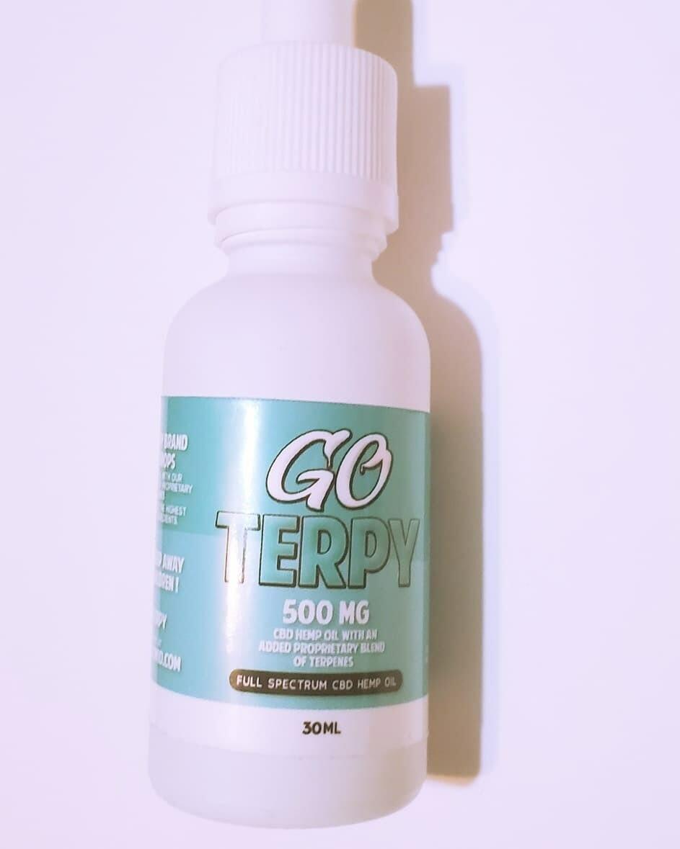 Go Terpy 500 mgs CBD 30 ML