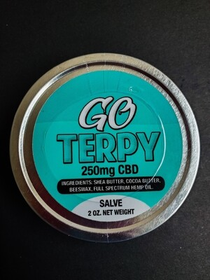 Go Terpy Salve 250mg Full Spectrum CBD