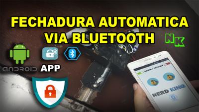 Códigos, Esquemas De Montagem E App Fechadura Bluetooth