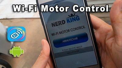 Tutorial e APP para Controlar Motor de Portão Via Wi-Fi + APP Bluetooth