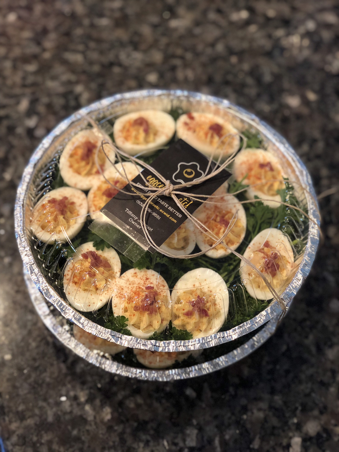 Deviled Eggs 2 trays (48ct)