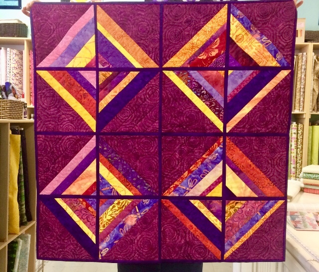 Quilt As You Go , Intermediate Quilting 54897