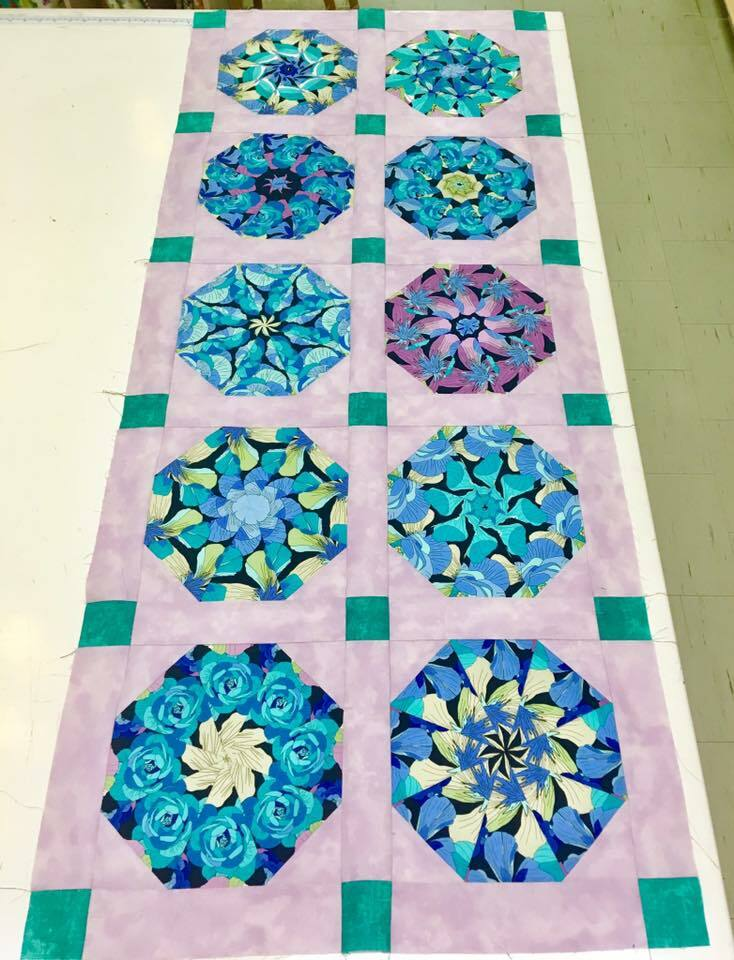 Intermediate/ Advanced Quilting - Kaleidoscope Quilt - Tuesday's #2 54911