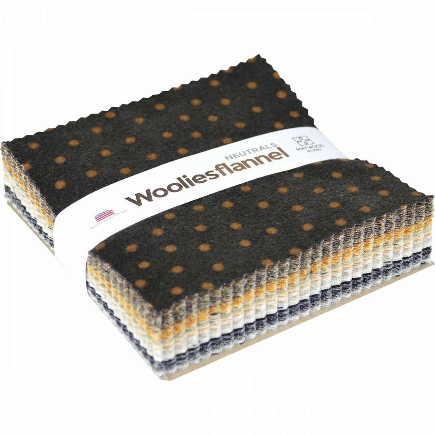Woolies Flannel Charm Pack - Neutral FH5HK5L7