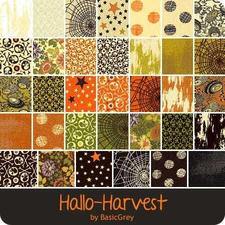 Hallo Harvest Charm Pack - BasicGrey TZ8VE9C5