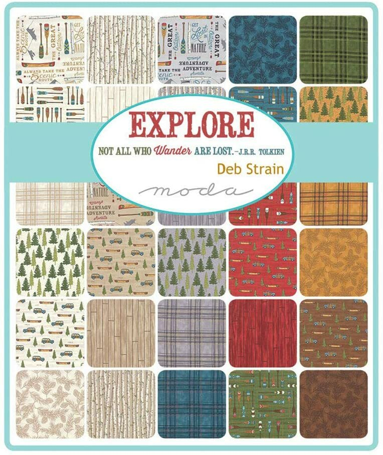 Explore Charm Pack - Deb Strain RMSVY4QY
