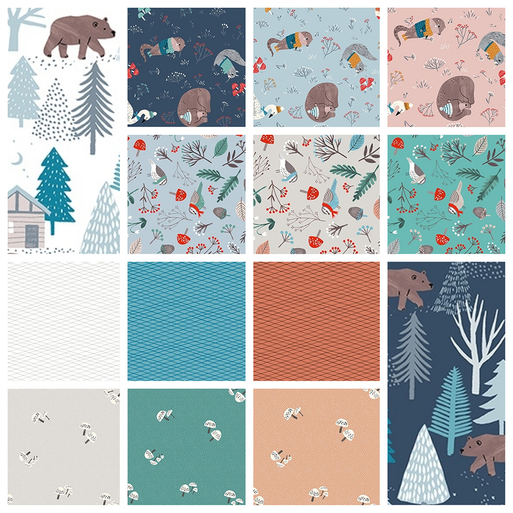 Dreaming of Snow Charm Pack - Clothworks 8XZG85C7