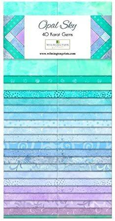 Opal Sky Jelly Roll - Wilmington Fabrics 4K2N684W