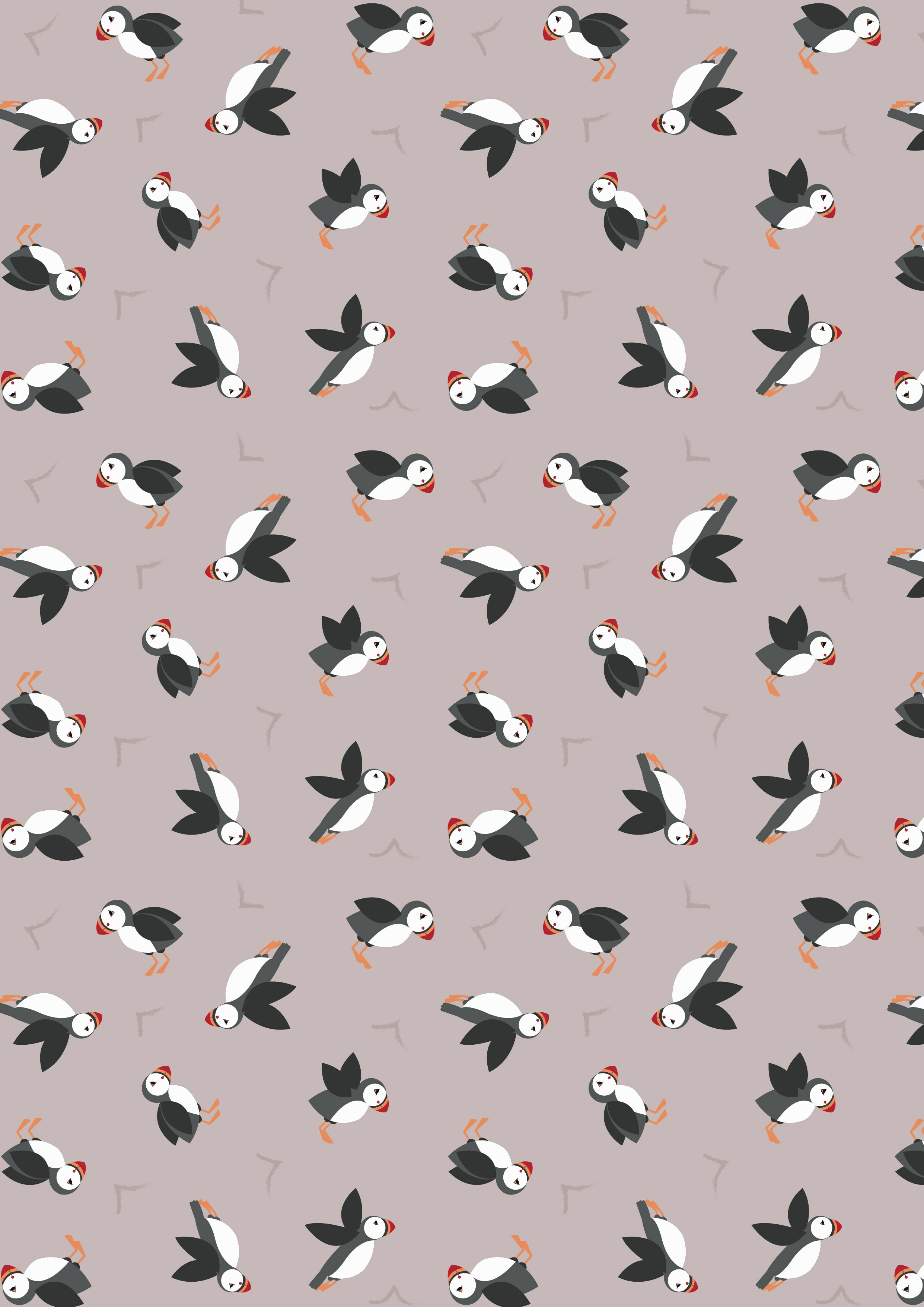 Taupe Puffins - Lewis & Irene 4EPFDBZP