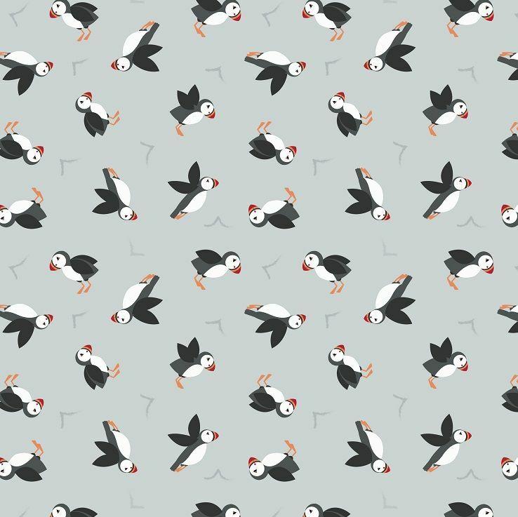 Grey Puffins - Lewis & Irene JU9K2AD5