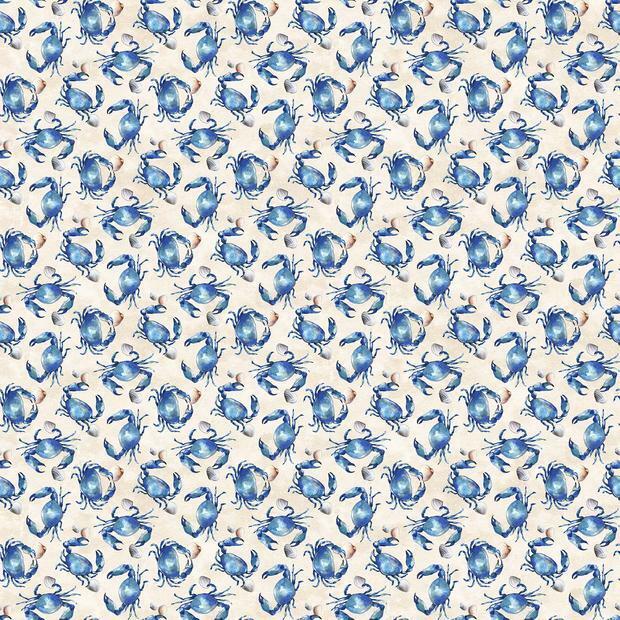 Blue Crabs - Northcott Fabrics RB3ERXUK