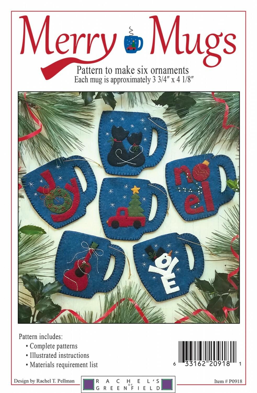 Merry Mugs Ornament Kit LRWG59DT