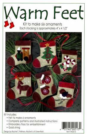 Warm Feet Ornament Kit DE9WRXH2