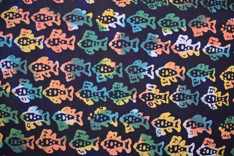 Small Colorful Fish - 1/2m cut CAQF3JHF