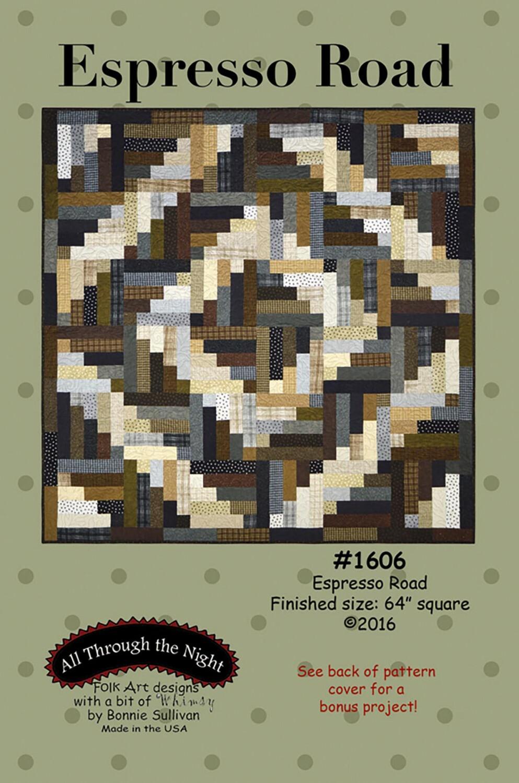 Espresso Road Pattern U34YT2KA