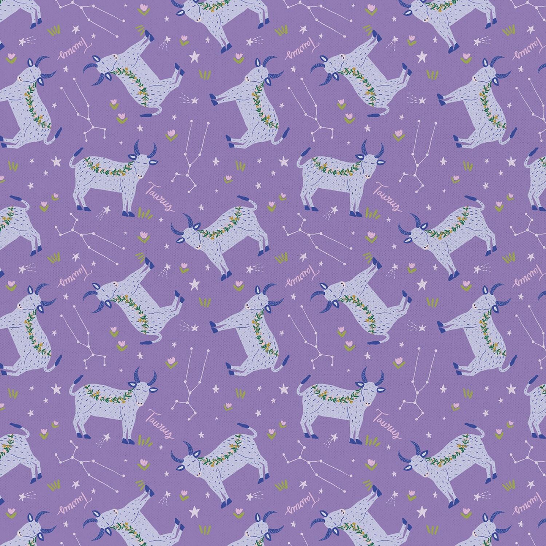 Taurus - Astrology Print by Paintbrush Studio XZBKL3QS