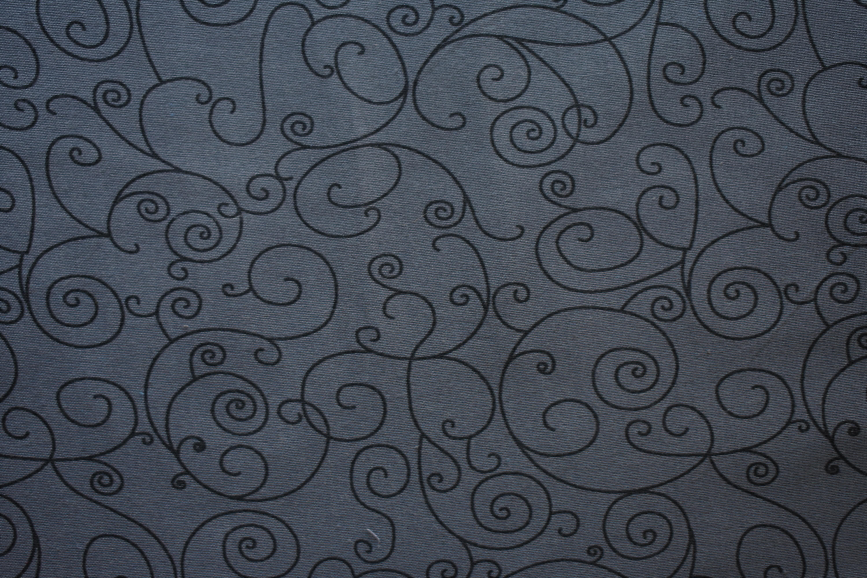 """Cotton 108"""" - Grey Swirls 54976"""