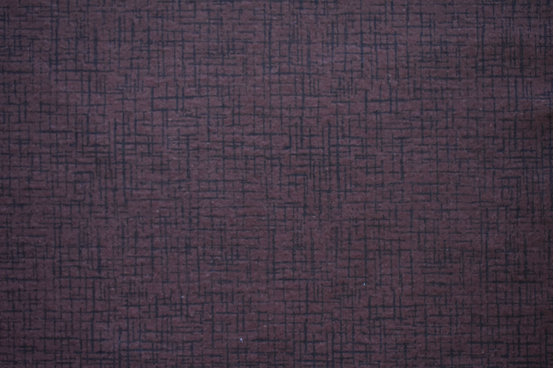 "Flannel 108"" - Brown Cross Hatch Q8N1D914"