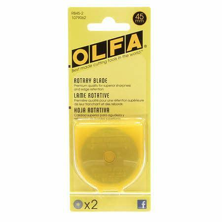 Olfa Replacement Blade - 2 Pack- 45mm DD2ATZFK
