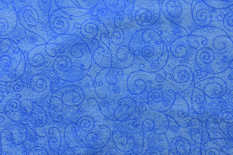 """Flannel 108"""" - Light Blue Swirls 8UX9S5JK"""