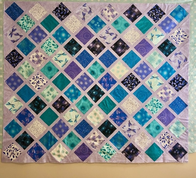 Stacked Diamond Quilt - ONLINE CLASS 54977