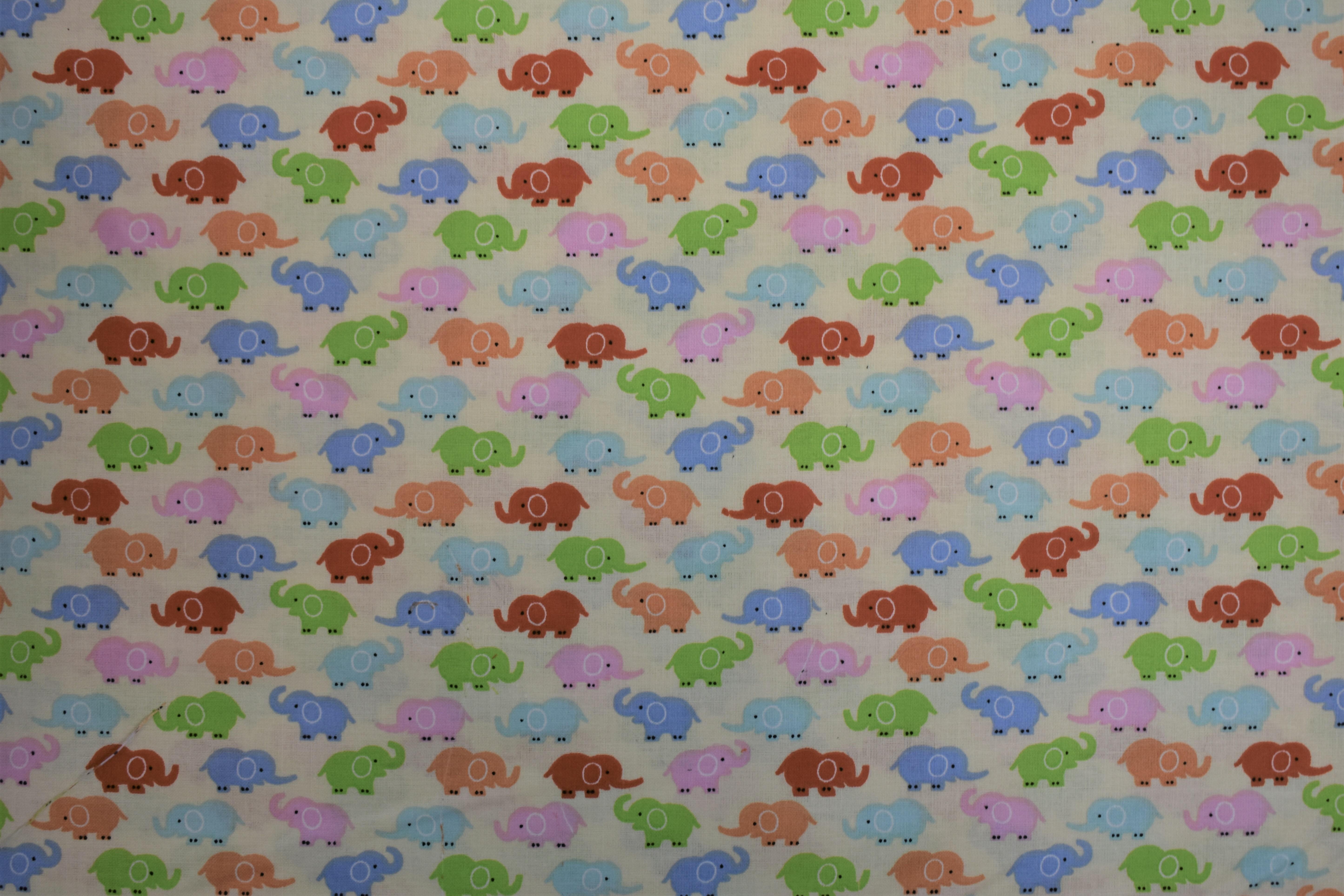 Colorful Elephants 54994
