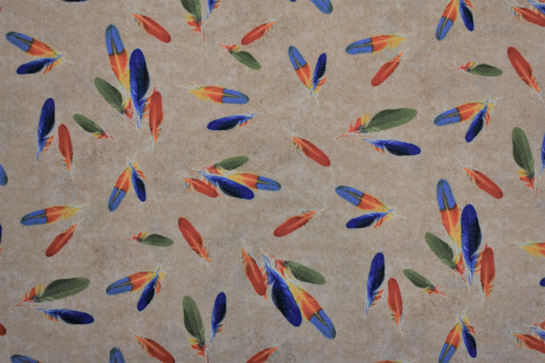 Rain-forest - Feathers - Windham Fabrics 55006