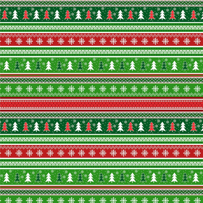 Camp Joy - Sweater Stripe - 1/2m cut 55423