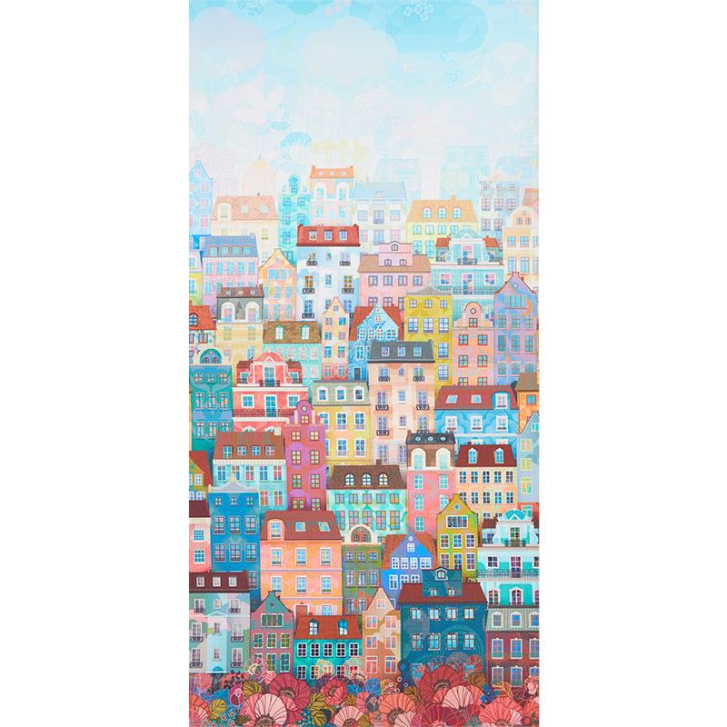 Happy Place - Day Buildings - 1/2m cut