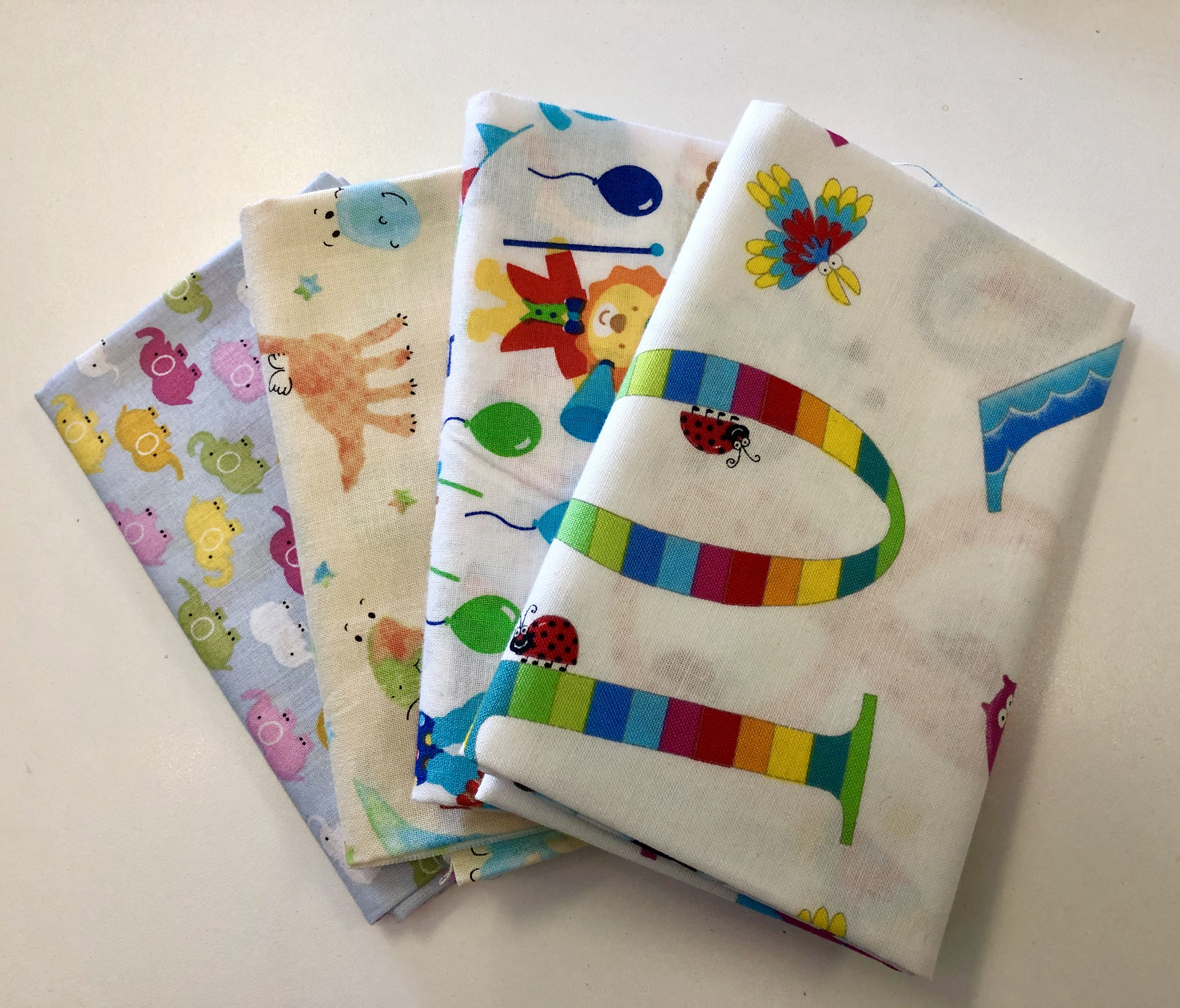 Kid Themed Prints Fat Quarter Bundle 55516