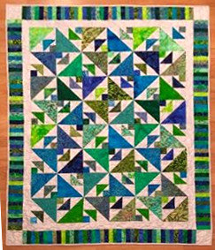 Tranquil Triangle Quilt Class - #1 54880