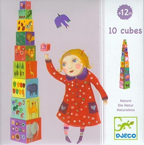 10 Cubes Nature