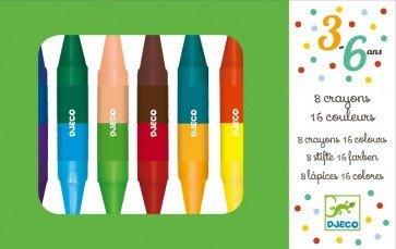 8 Crayon 16 Colors