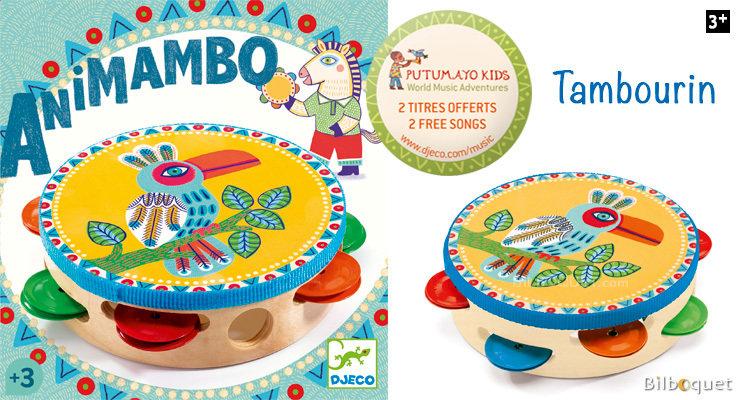 Animambo Tambourine