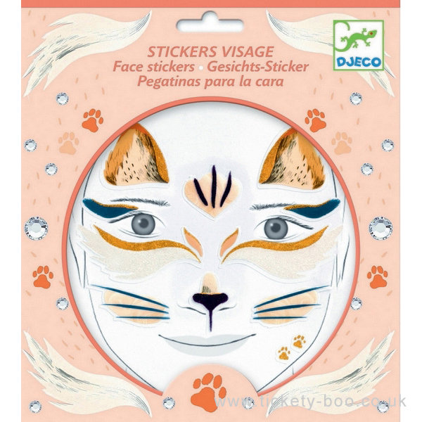 Face Stickers Cat