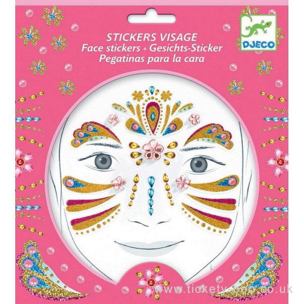 Face Stickers Princess
