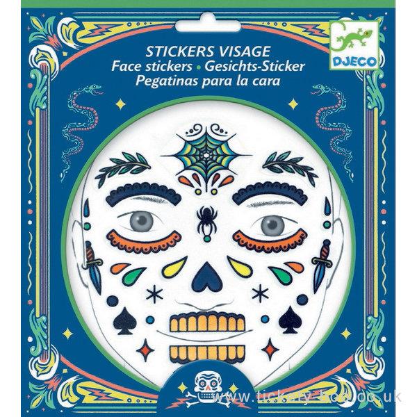 Face Stickers Skull