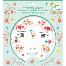 Face Stickers Spring Fairy